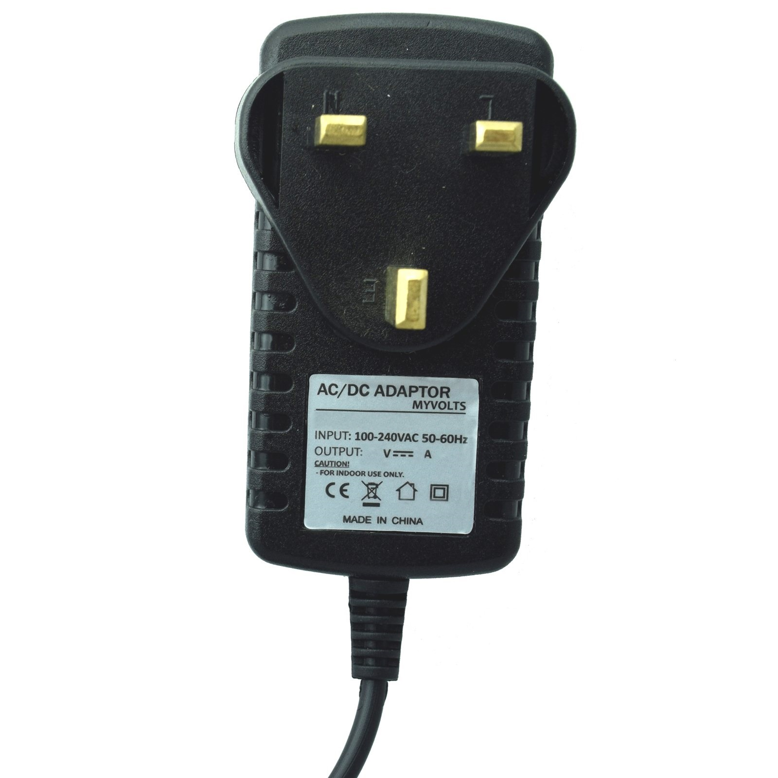 USB to 9V DC Power Cable Compatible with The Bastl Dude Mixer myVolts Ripcord